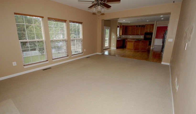 Family Room Leading to the Kitchen