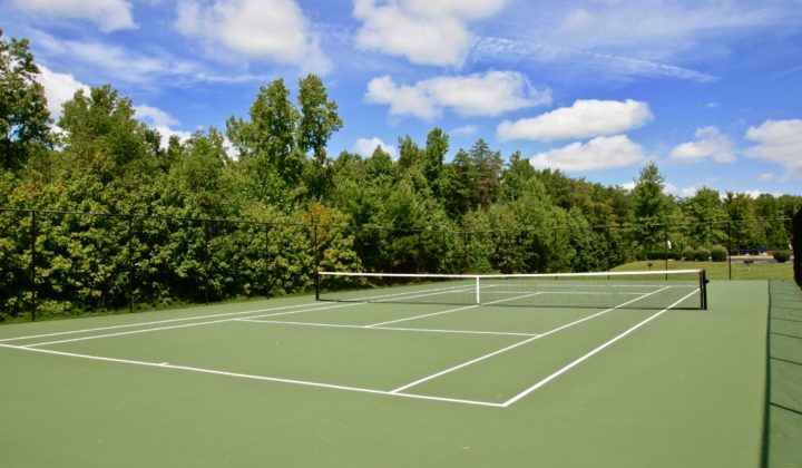 Leeland Station Tennis Court